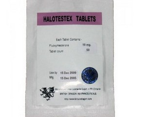 Buy Halotestex 10mg (50 Tablets) Fluoxymesterone for sale online